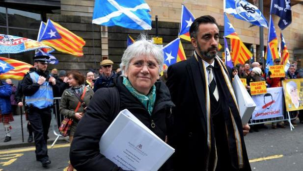 Clara Ponsatí, prófuga de la Justicia ahora en Escocia