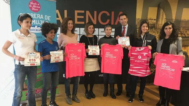 Presentació de la Carrera de la Dona en Valencia