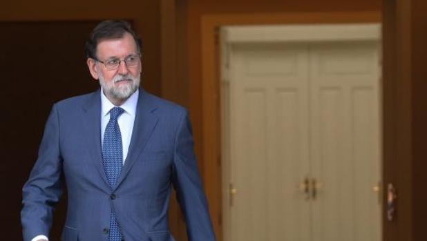 Rajoy, este viernes, antes de la comparecencia con el primer ministro danés, Lars Lokke