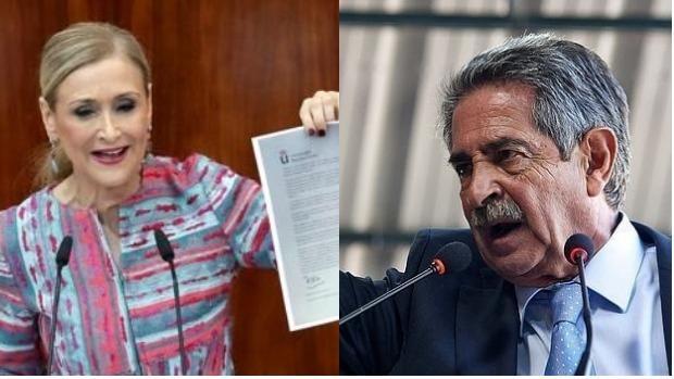 Cristina Cifuentes y Miguel Ángel Revilla