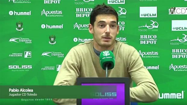 Pablo Alcolea, portero del CD Toledo