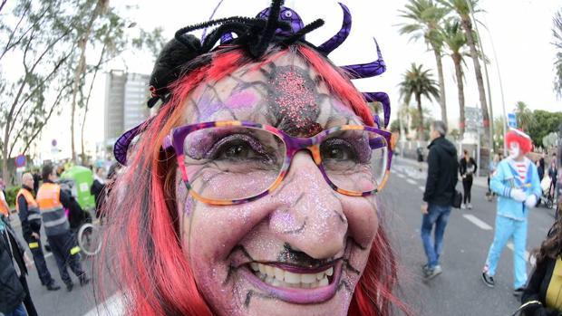 Una «mascarita» del Carnaval en Las Palmas de Gran Canaria