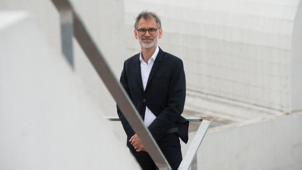 Marko Daniel, fotografiado en la Fundació Miró de Barcelona