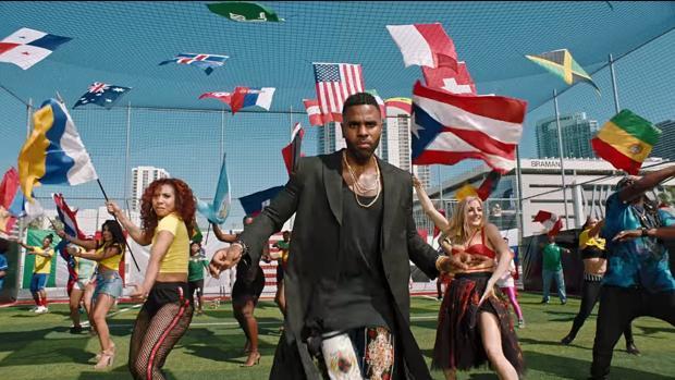 La bandera trioolor de Canarias en el vídeo oficial de la FIFA por el Mundial de Rusia