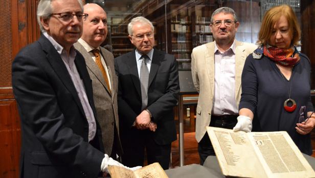 Imatge de la presentación del manuscrit