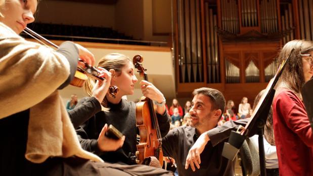 Hilari Garcia, director de l'Orquestra Filharmònica de la Universitat de València