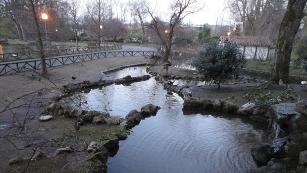 Imagen del parque Isabel la Católica de Gijón