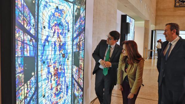 Mañueco, Clemente y Pérez Castro inauguraron este pasado jueves la exposición