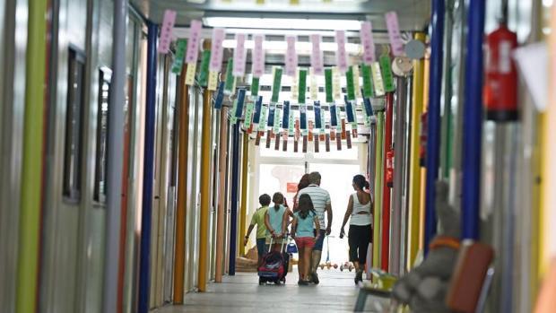 Imagen de archivo de un colegio público de la ciudad de Valencia