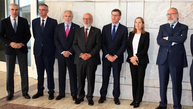 Aniversario del Círculo Financiero de Galicia