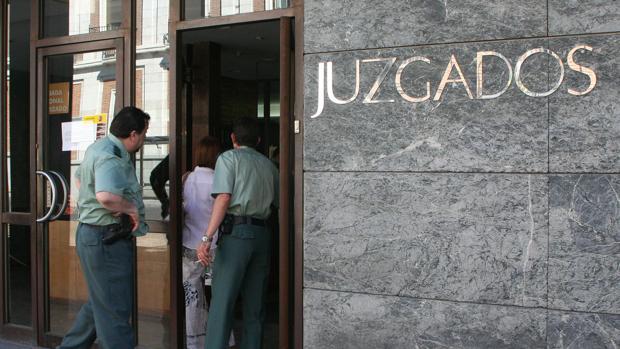 Imagen de archivo de los juzgados de Valladolid