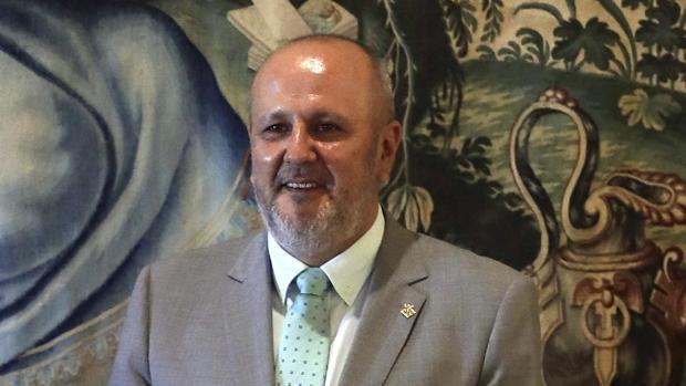 El presidente del Consell de Mallorca, Miquel Ensenyat, en una imagen de archivo