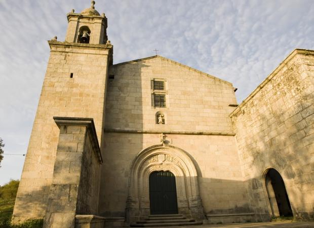 Monasterio de Bon Xesús de Trandeiras, una de las iglesias asaltadas