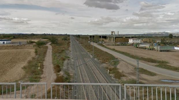Tramo de la línea férrea en la que se ha producido el atropello mortal