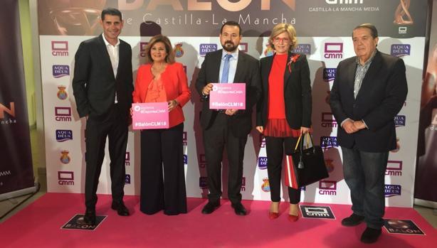 Fernando Hierro estuvo presente en la entrega de premios