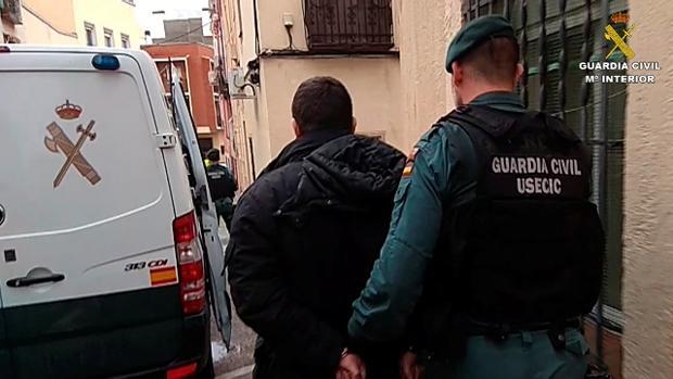 Uno de los miembros de la banda, detenido en Madrid