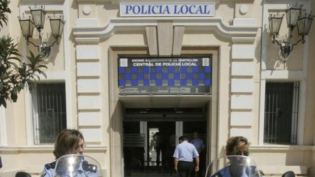 Retén de la Policía Local de Castellón