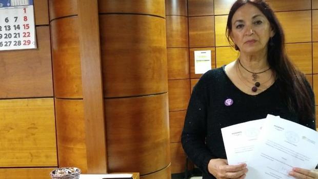 María del Río Sánchez,, diputada canaria de Podemos