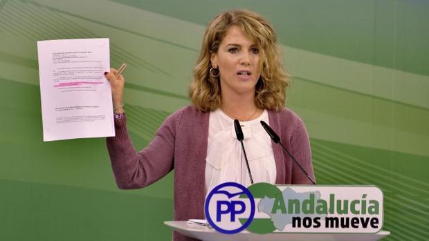 La vicesecretaria del PP de Andalucía, Ana Mestre