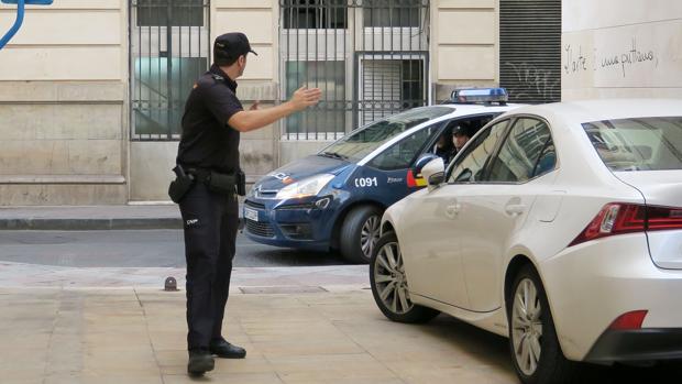 Imagen de archivo de la Policía en Alicante
