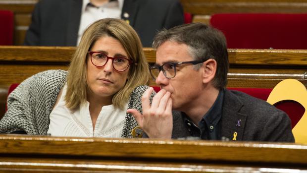 Diputados de Junts per Catalunya en el Parlament