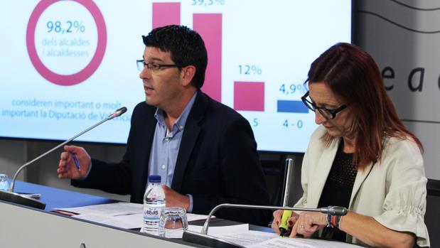 Jorge Rodríguez i Maria Josep Amigó