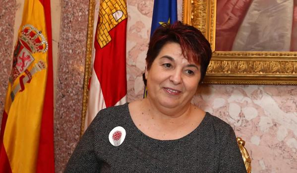 La alcaldesa de Segovia, Clara Luquero