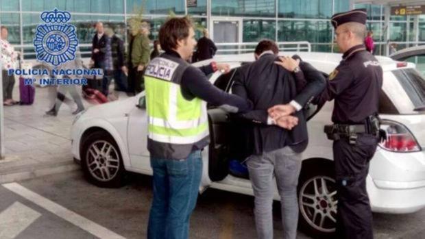 Imagen de uno de los detenidos en relación a una denuncia por agresión sexual en Alicante