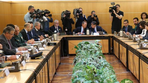 Reunión del pacto antiterrorista