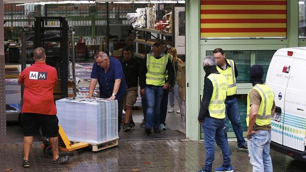 Operativo policial para evitar el referéndum ilegal del 1-O