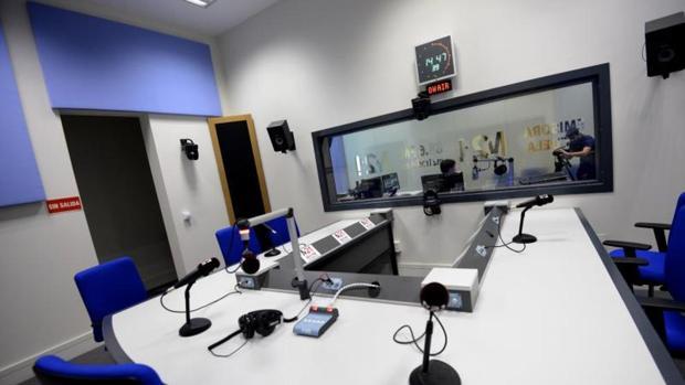 Imagen de archivo de unos estudios de radio