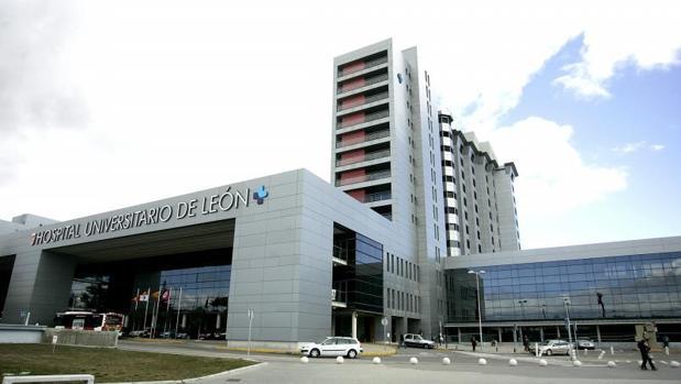 Exterior del Hospital Universitario de León
