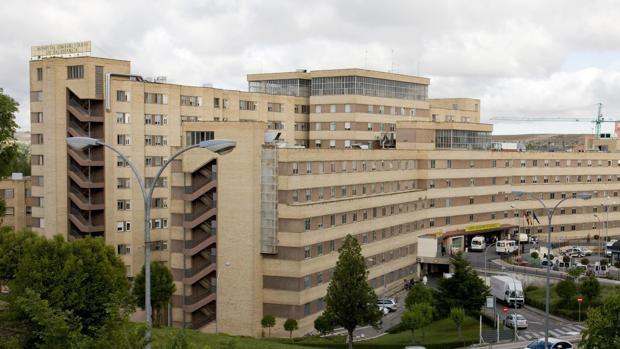 Hospital Clínico de Salamanca, donde fue trasladada la joven