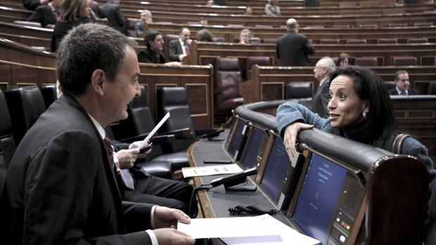José Luis Rodríguez Zapatero y Beatriz Corredor, en una imagen de archivo
