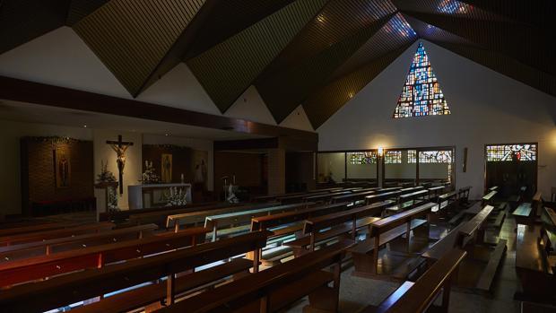 Interior del templo de san Fulgencio y san Bernardo