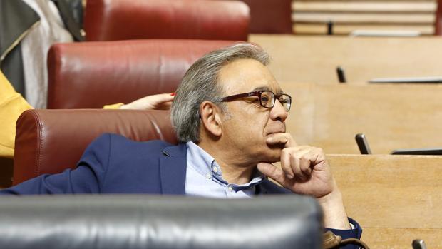 Manolo Mata, portavoz de los socialistas en las Cortes Valencianas