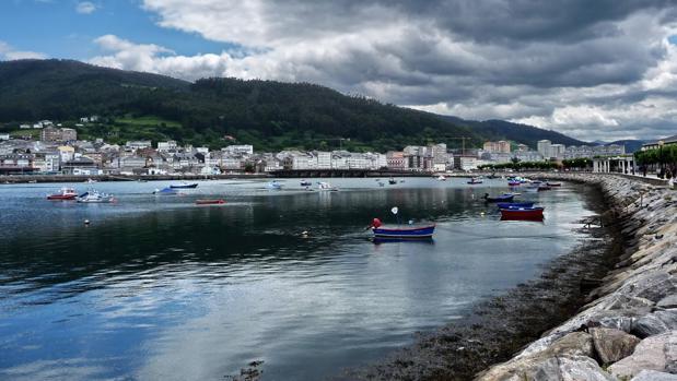 Vista panorámica de Viveiro (Lugo)
