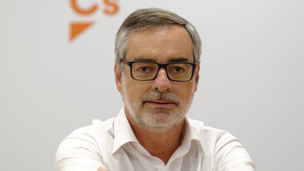 José Manuel Villegs, secretario general de Ciudadanos