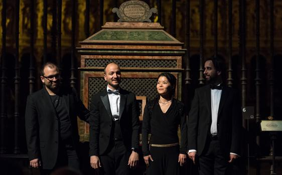 Atsuko Takano en el Echevarría, Carlo María Barile en el del Emperador, Pablo Márquez en el Berdalonga y Juan José Montero en el del Sagrario