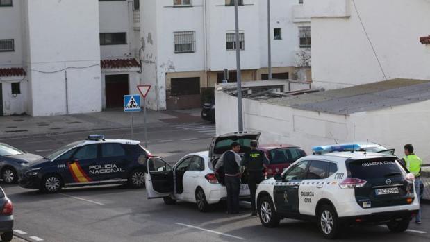 Un operativo antidroga en Algeciras