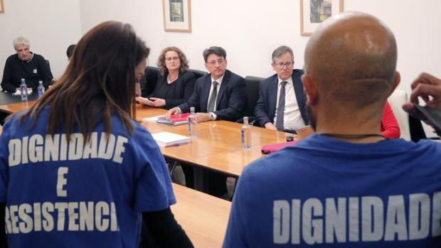 Reunión de la mesa sectorial este martes en la sede de la Xunta