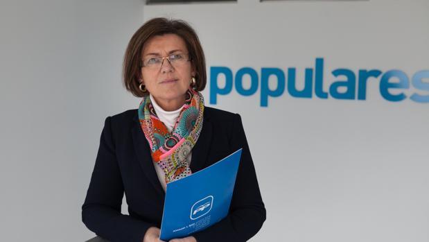 La expresidenta del PP de Soria, Mar Angulo