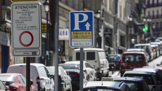 Calle Leganitos, ubicada dentro de la APR de Ópera, la que más sanciones interpone