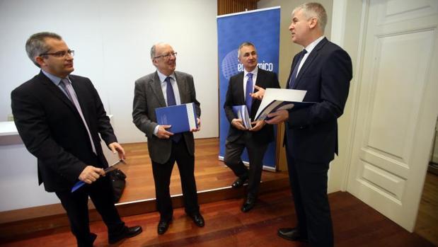 Integrantes del Foro Económico de Galicia