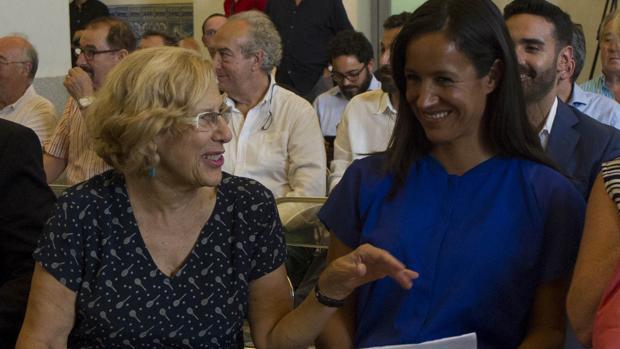 Manuela Carmena y Begoña Villacís