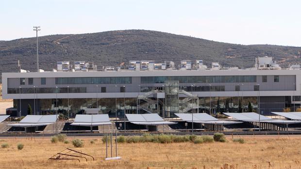Vista exterior del aeropuerto de Ciudad Real