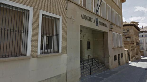 Edificio de la Audiencia Provincial de Huesca
