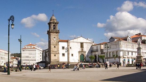 Una imagen del centro de Betanzos, La Coruña