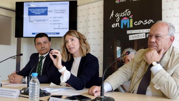Presentación del proyecto este pasado martes en Navas del Marqués (Ávila)