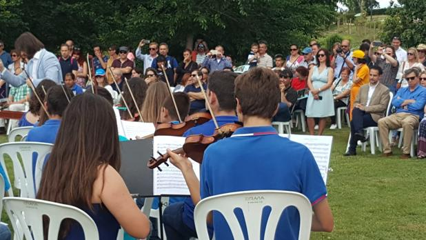 Un momento del concierto auspiciado por Aguas de Alicante en el Dia Mundial del Medio Ambiente